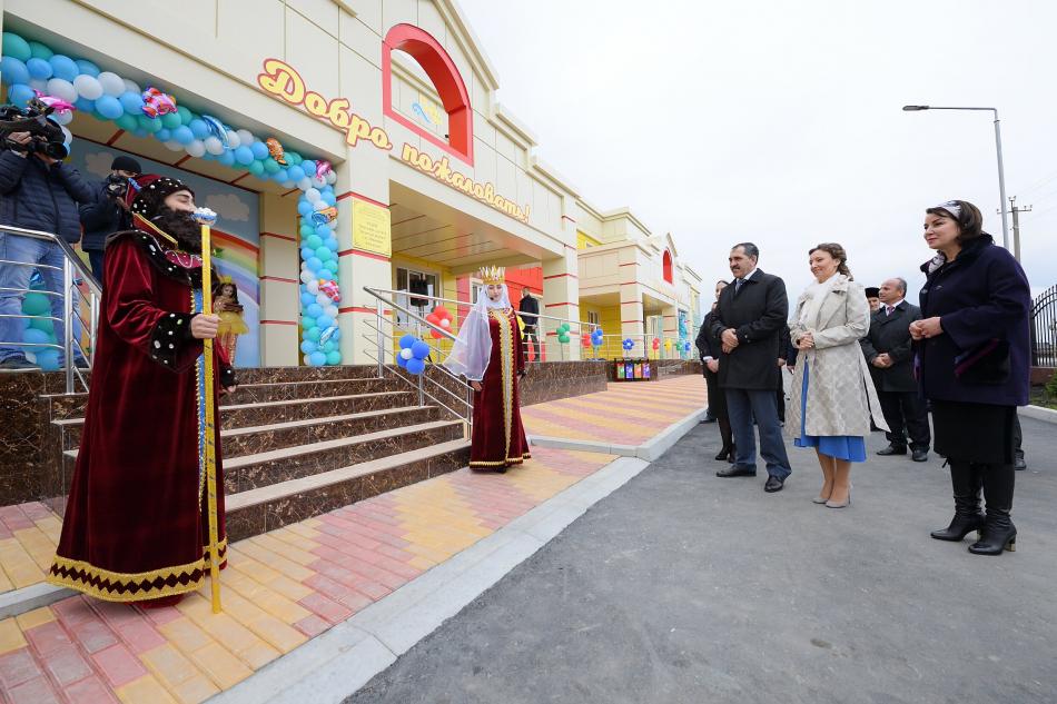 Анна Кузнецова с рабочим визитом находится в Ингушетии