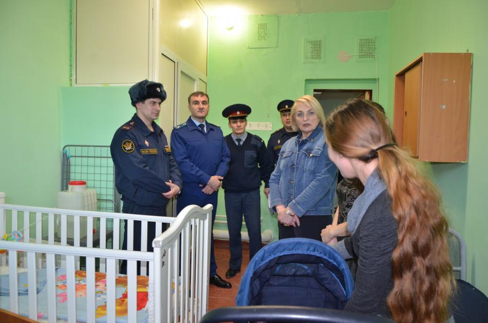 Уполномоченный по правам ребенка в Липецкой области проверила условия содержания несовершеннолетних в СИЗО