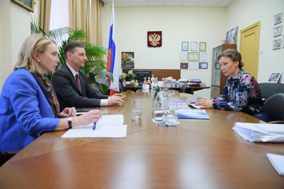 Детский омбудсмен обсудила нарушения в Кольчугинском детском доме-интернате с губернатором Владимирской области