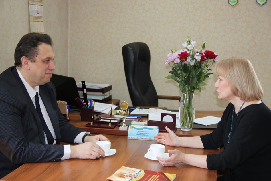 Встреча с Уполномоченным по правам человека в Кировской области