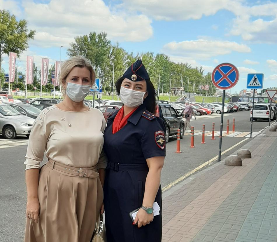 В Брянской области прошла акция к международному Дню сфетофора