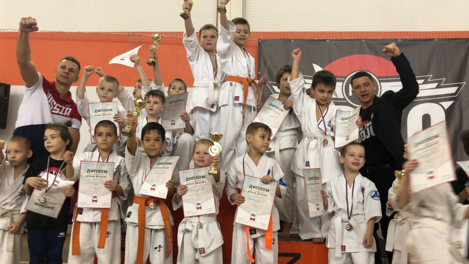 Игорь Мороков принял участие в награждении юных участников кубка DOJO №1
