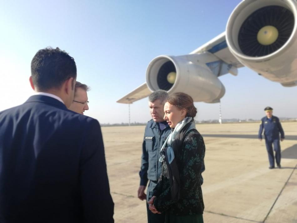 Анна Кузнецова находится в Ираке для эвакуации российских детей