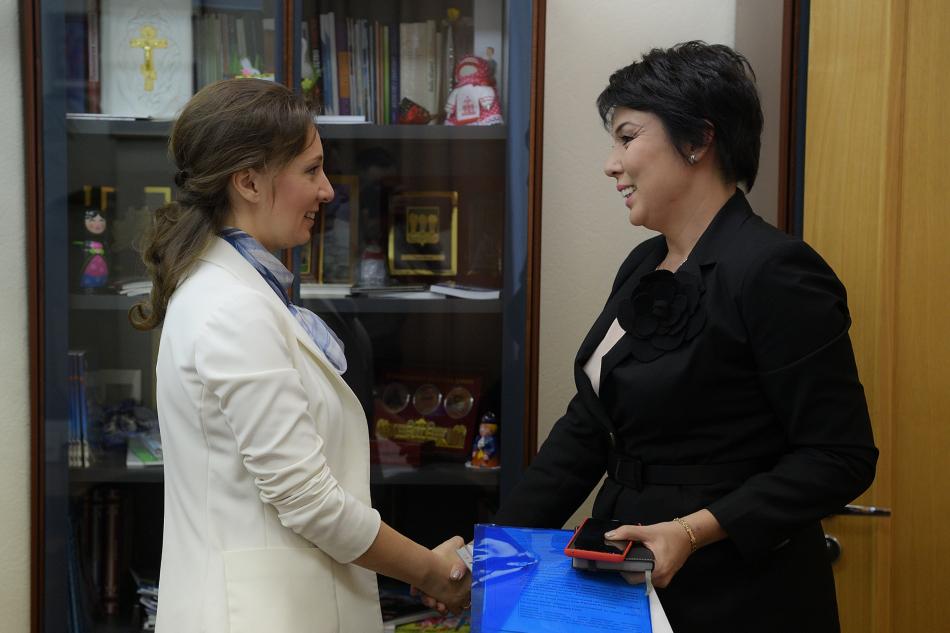 Детский омбудсмен провела рабочую встречу  с Уполномоченным по правам ребенка в Республике Казахстан