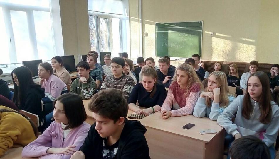 Сотрудник службы Уполномоченного по правам ребенка в Ивановской области провела правовую лекцию для школьников