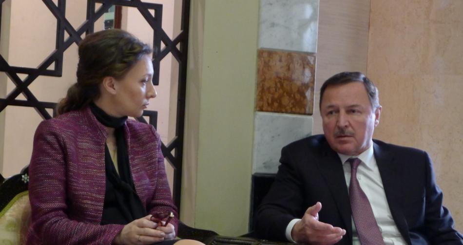 Анна Кузнецова с рабочим визитом находится в Сирии