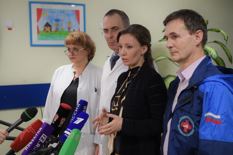 Анна Кузнецова вернула из лагеря Аль-Холь на родину 26 российских детей