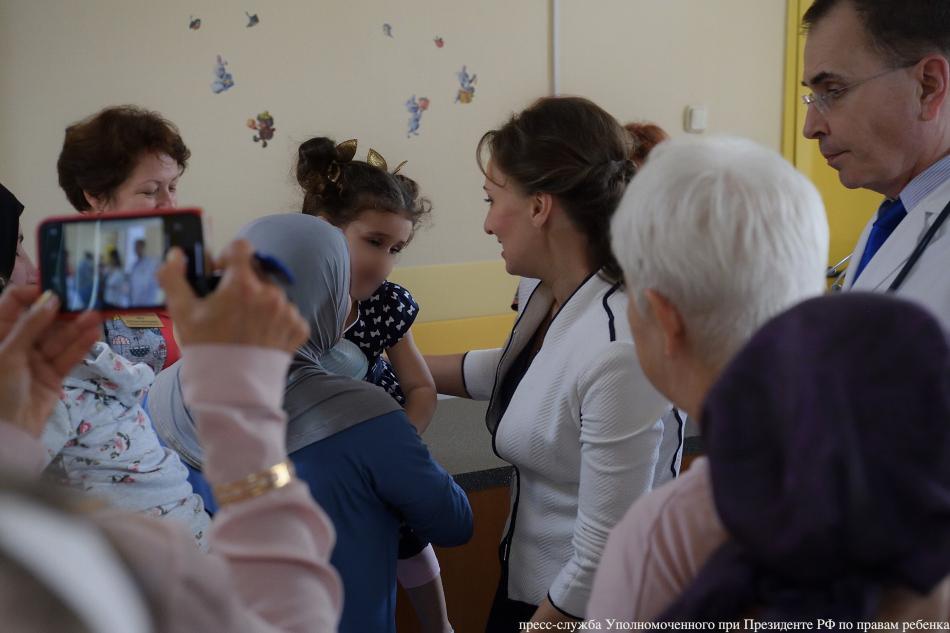 Детей, вывезенных из Ирака, начали выписывать из больницы