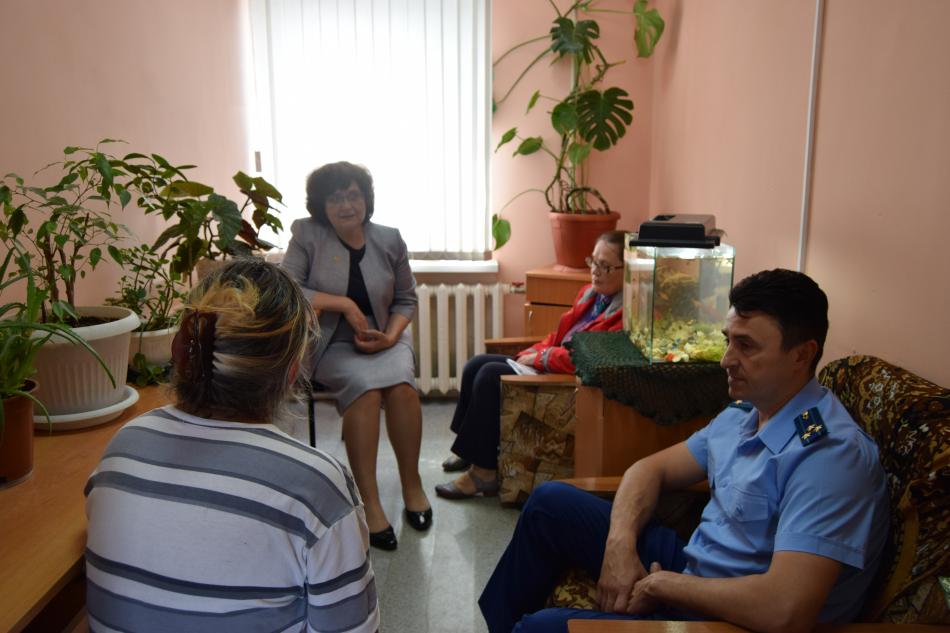 Уполномоченный по правам ребенка в Ивановской области Татьяна Океанская посетила СИЗО № 1 и исправительную колонию № 7
