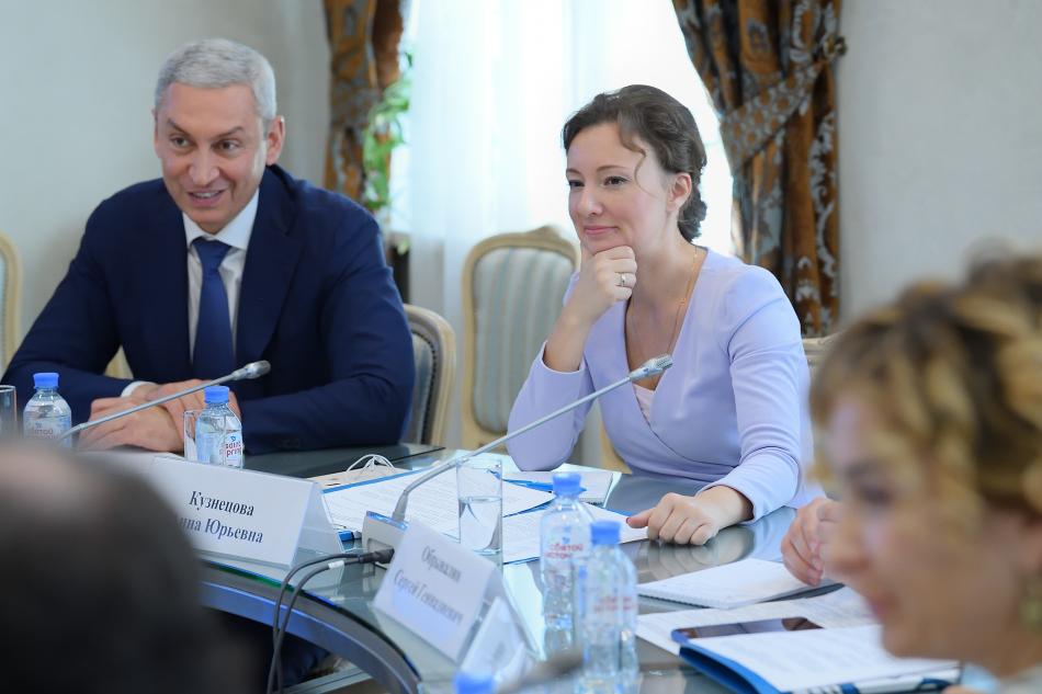 Анна Кузнецова провела совещание по развитию в Республике Северная Осетия-Алания позитивного детского контента, приуроченного к 1100-летию крещения Алании.
