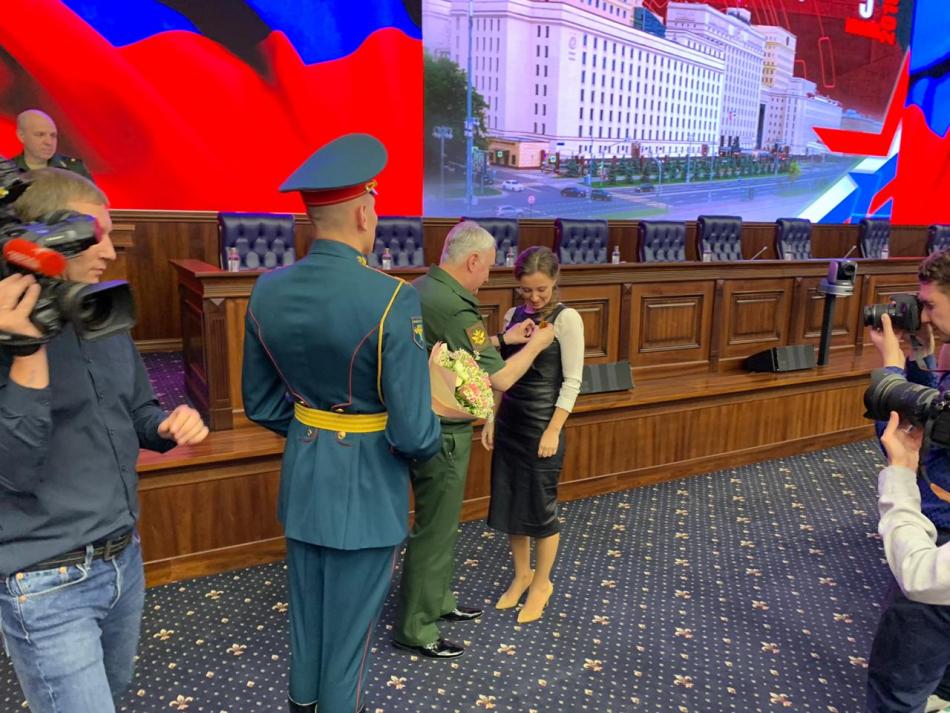 Анна Кузнецова вошла в состав главного штаба «Юнармии»
