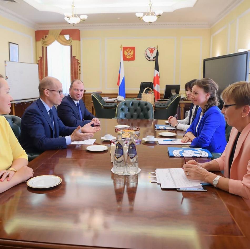В Удмуртской Республике с рабочим визитом находится  Уполномоченный при Президенте Российской Федерации по правам ребёнка Анна Кузнецова.