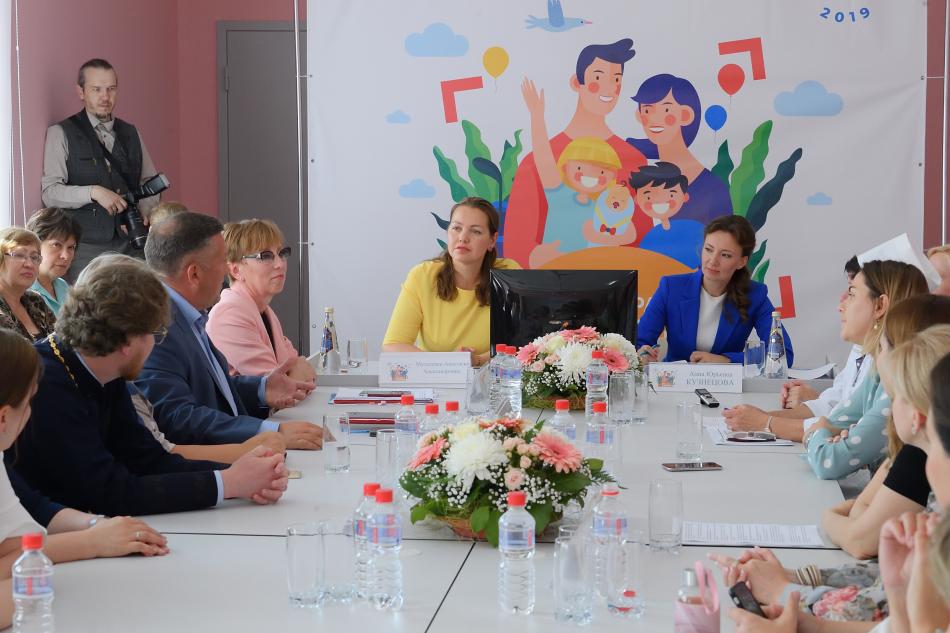 Анна Кузнецова в Удмуртии дала старт проекту «Сохраним жизнь»