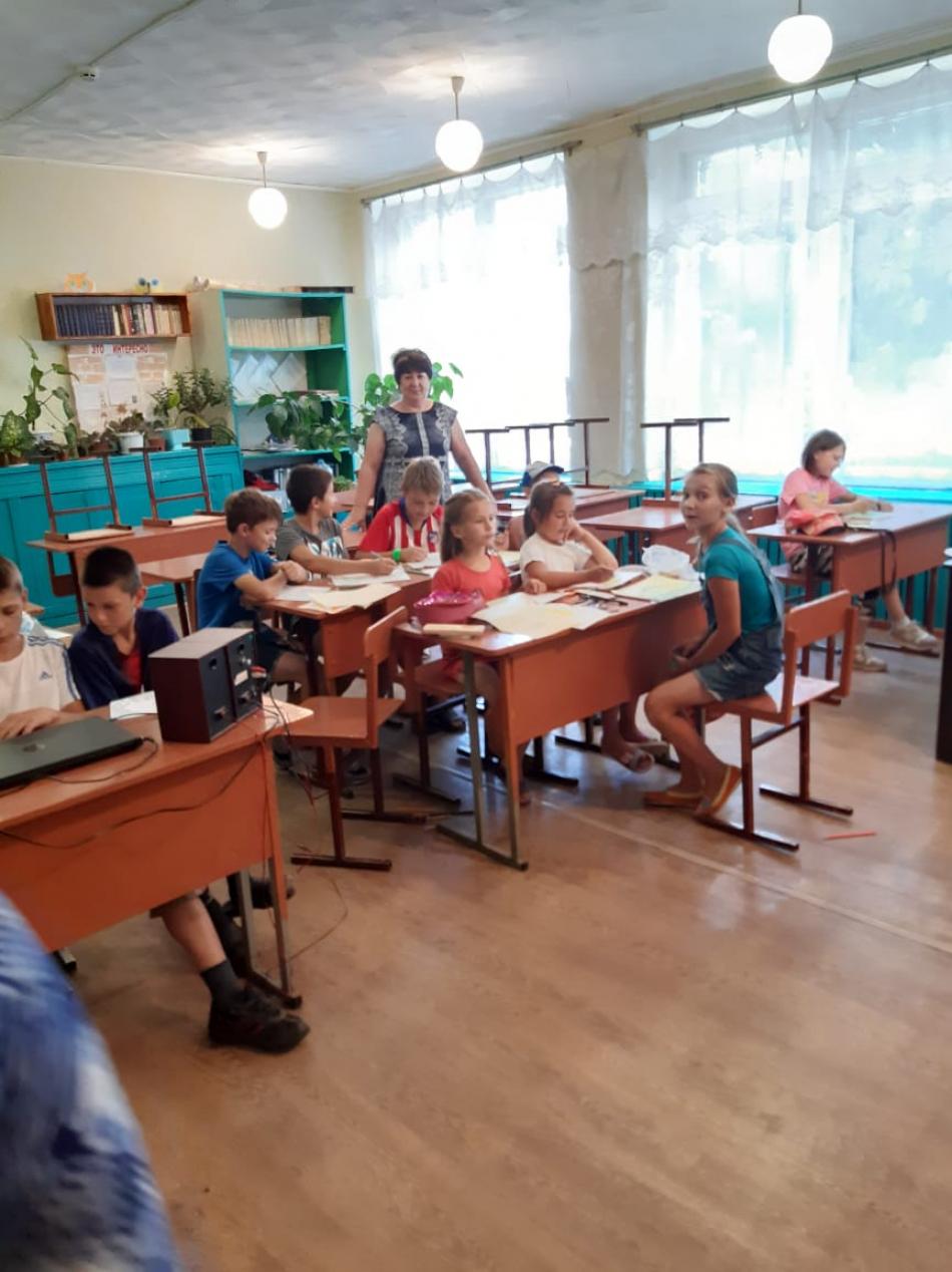 Посещение Уполномоченным по правам ребенка в Курской области оздоровительных лагерей