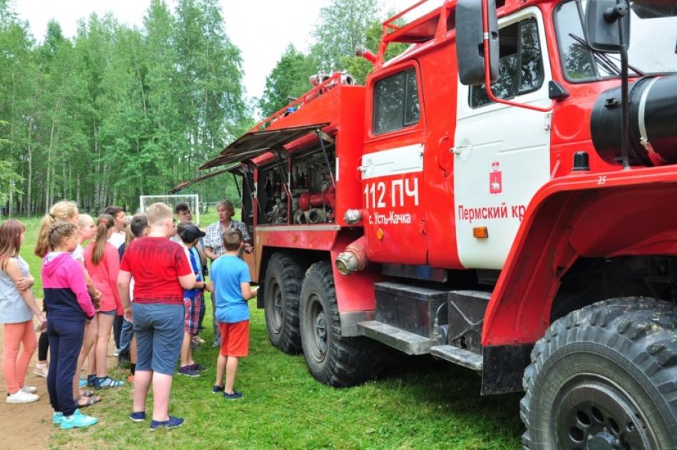 В Пермском крае в летних оздоровительных лагерях начинает курсировать «Поезд безопасности»