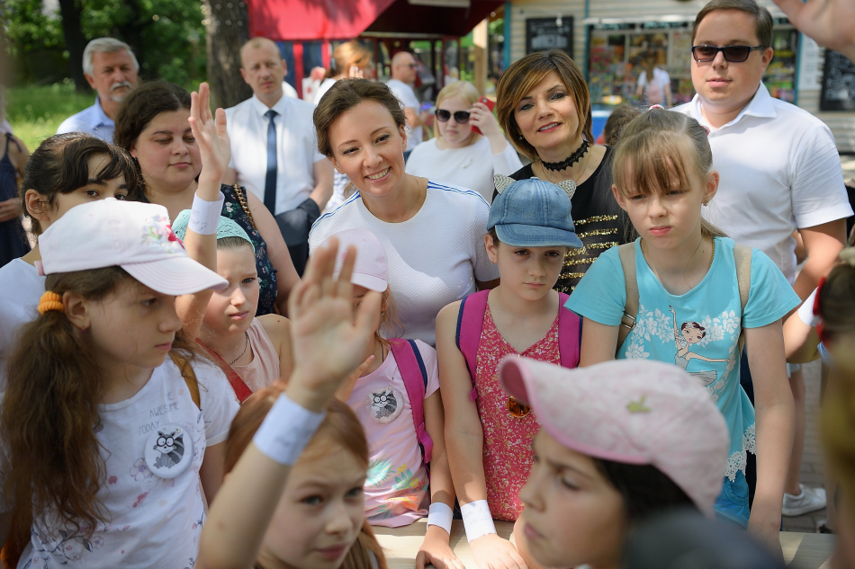 Анна Кузнецова дала старт Дню безопасности детства в Московской области