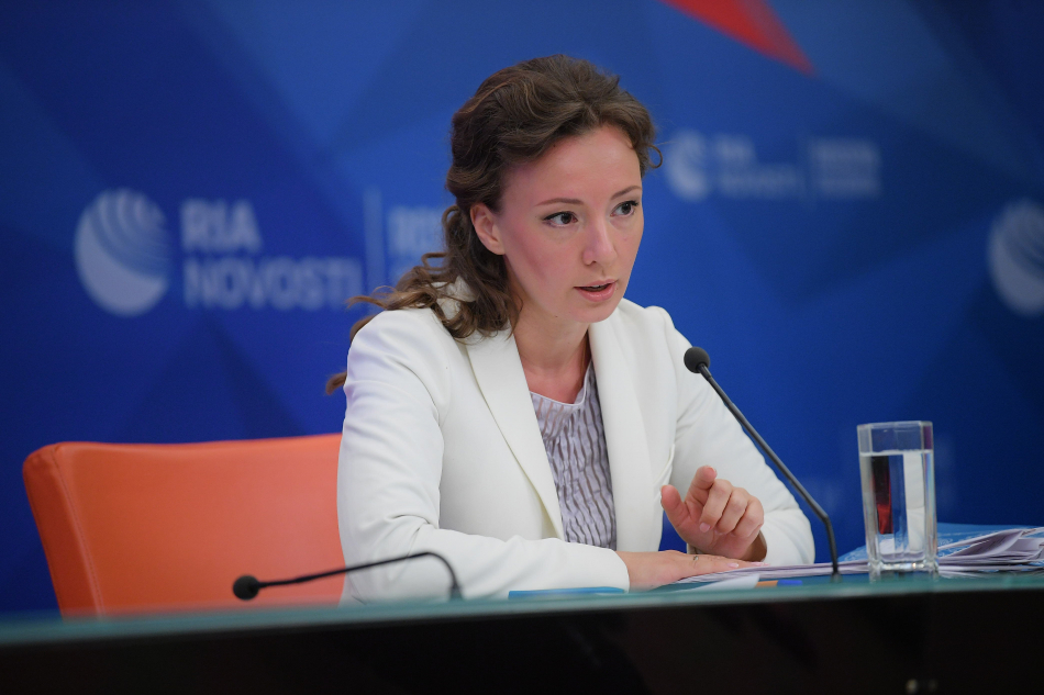 Анна Кузнецова ответила на вопросы журналистов  и интернет-пользователей