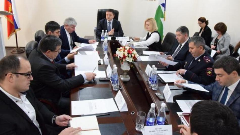 Заседание Комиссии по делам несовершеннолетних и защите их прав при Правительстве Кабардино-Балкарской Республики