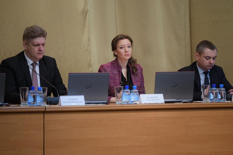 Анна Кузнецова обсудила вопросы защиты прав несовершеннолетних, находящихся в учреждениях ФСИН