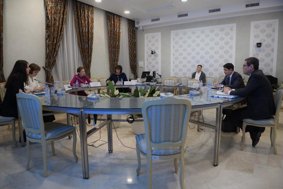 Рабочая встреча с представителями казахского посольства