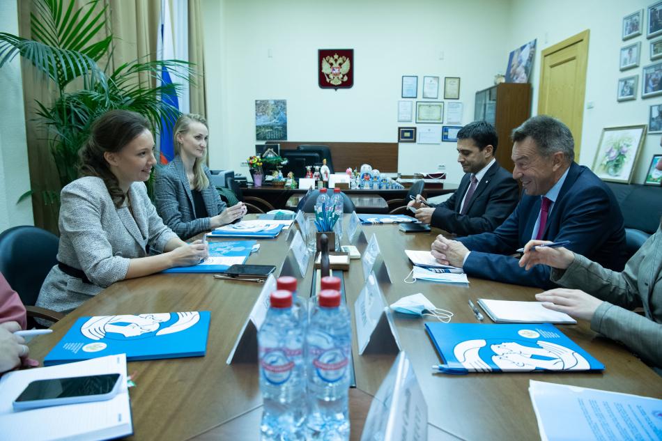 Детский омбудсмен обсудила с руководством Красного Креста опыт Российской Федерации по репатриации детей