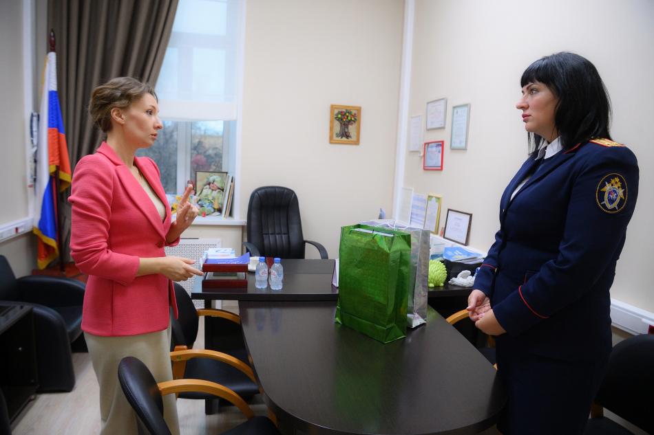 Анна Кузнецова встретилась с представителем СК Красноярского края и Республики Хакасия