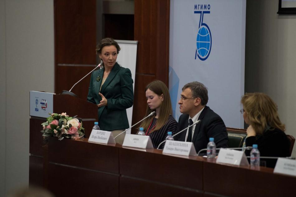 Анна Кузнецова предложила создать международный союз студентов в защиту  детства