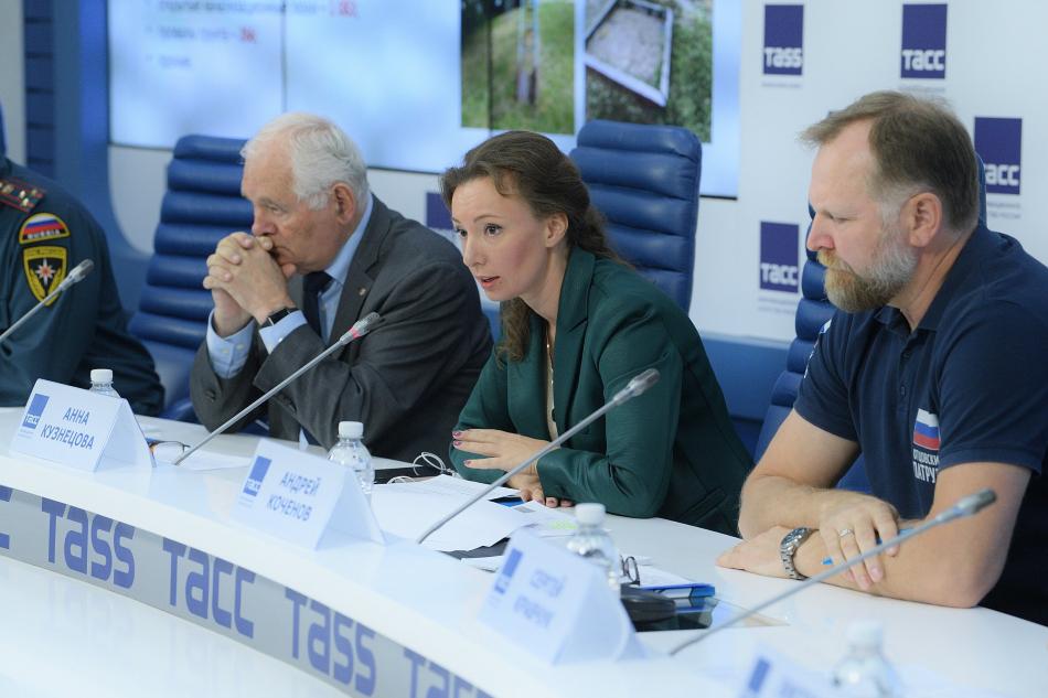Анна Кузнецова подвела итоги Всероссийской акции «Безопасность детства»