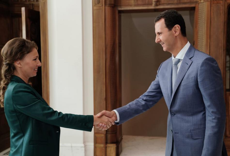 Детский омбудсмен Анна Кузнецова встретилась с Президентом Сирии Башаром аль-Асадом