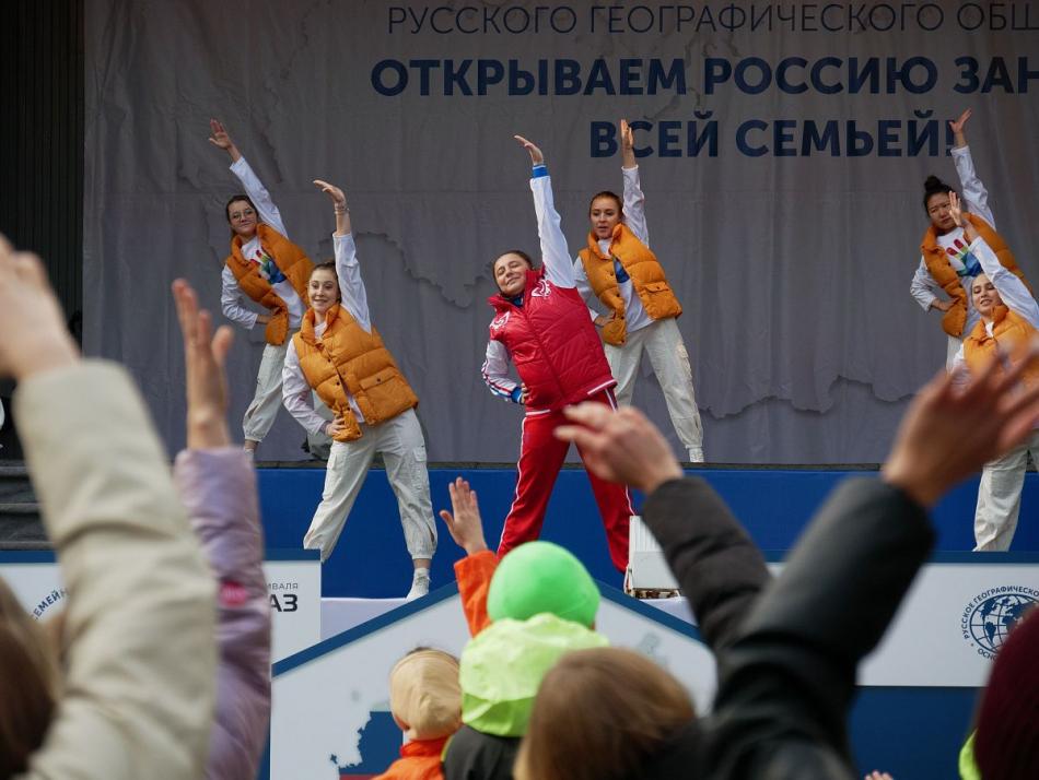 Игорь Мороков принял участие в открытии фестиваля «Открываем Россию заново. Всей семьей!»