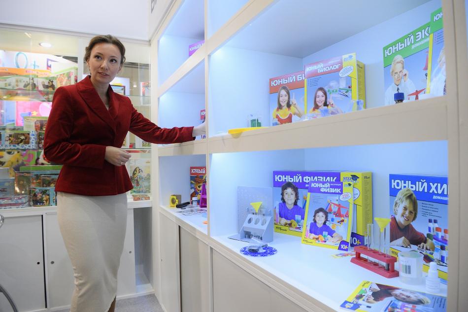 Анна Кузнецова направила приветствие участникам международных выставок детских товаров в Москве